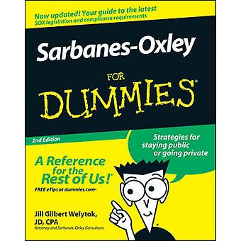 SarbanesOxley For Dummies by Jill Gilbert Welytok