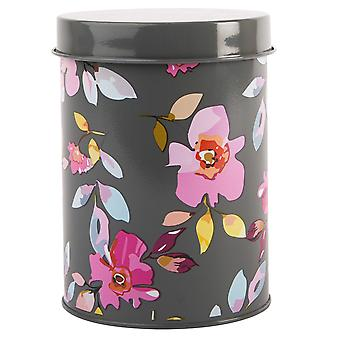 Navigare Gardenia Canister, Gri florale