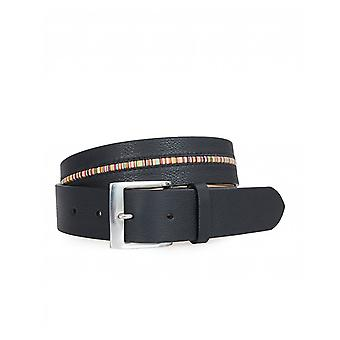 Paul Smith Accessories Multi Stripe Insert Leather Belt