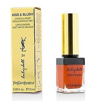 Yves Saint Laurent Baby Doll Kiss & Blush - # 24 Oranje Intrepide 10ml/0.33oz