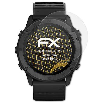 atFoliX Glass Protector compatible with Garmin tactix Delta Glass Protective Film 9H Hybrid-Glass