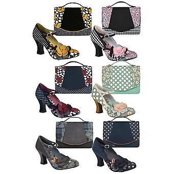 Ruby Shoo Women's Dee Mid Heel Mary Jane Pumps & Matching Belfast Bag