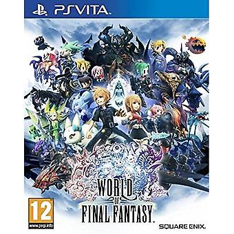 World of Final Fantasy PS Vita Game