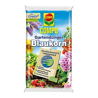 COMPO حديقة الأسمدة Blaukorn® نوفاتيك® 3 كجم