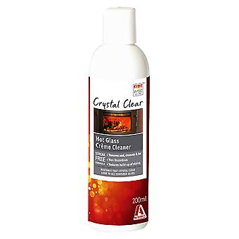 RubbedIn Hot Glass Cleaner for Stoves & Wood Burners (200mL)