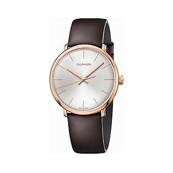 Calvin klein women's watch brown k8m21