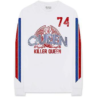 Queen Freddie Mercury Killer Queen Pitkähihainen virallinen T-paita Unisex