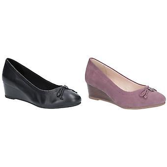 Hush Puppies kvinnor/damer Morkie Charm Wedge skor