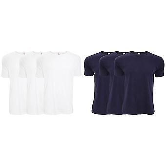 FLOSO Mens Interlock Underwear T-Shirt (Pack Of 3)