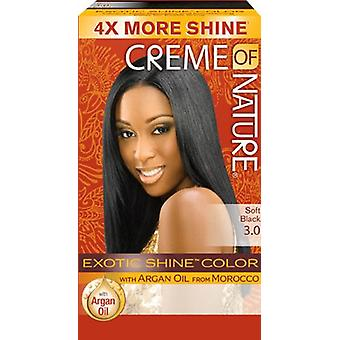 Crème of Nature Exotic Shine Colour Soft Black 3.0
