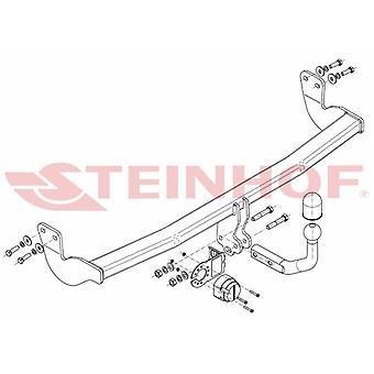 Steinhof Towbar (fixes 2 bolts) for Citroen DS3 Convertible 2013 Onwards