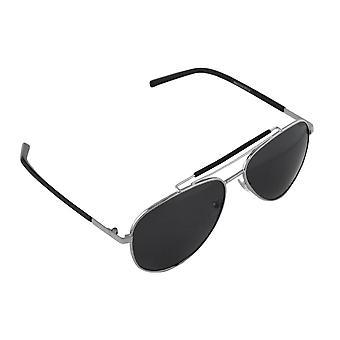 Solglasögon Män och Solglasögon Kvinnor Polaroid Pilot - Silver/Svart med gratis brillenkokerS310_7