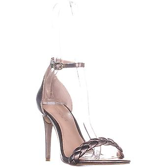 Rachel Zoe Femmes Ella Sandal Leather Open Toe Formal Ankle Strap Sandals
