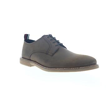 Ben Sherman Birk Plain Toe  Mens Brown Casual Lace Up Oxfords Shoes