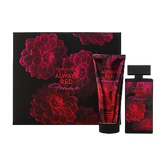 Elizabeth arden immer rot für Frauen 2 Stück Set enthält: 1,7 oz Eau de Toilette Spray + 3,0 oz Körperlotion