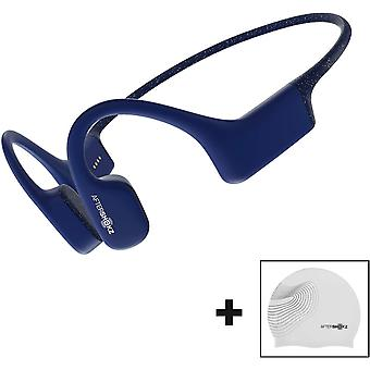 AfterShokz Xtrainerz Swimming Bone Conduction Bluetooth Headphones Sapphire Blue