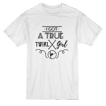 I Got A True Pyörre Tyttö Baton Graphic Men's T-paita