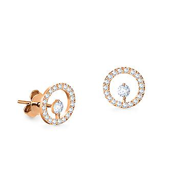Earrings Helios 18K Gold and Diamonds