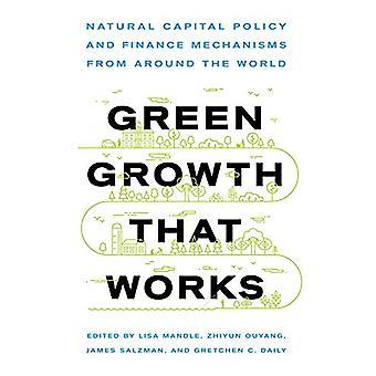 Crescita verde che funziona - Politica del capitale naturale e meccanismo finanziario