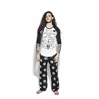 Blackcraft cult - pizzagram - unisex pyjama set