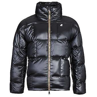K-Way Silas Heavy Thermo Igloo Padded Black Jacket
