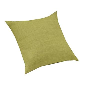 Lime Green Linen Effect Upholstery Fabric Extra Large 24