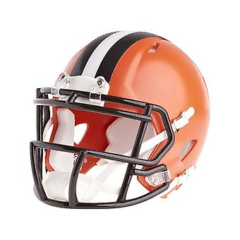 Riddell mini football helmet - NFL Cleveland Browns speed