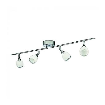Ceiling Light Chrome Lutina 4 Bulbs