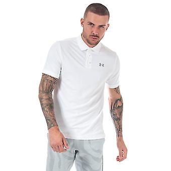 Men's Under Armour UA Performance Polo Shirt in White