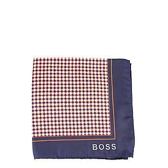 Boss 5042946910225425820 Uomini's Foulard di seta multicolore