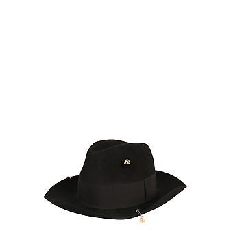 Ruslan Baginskiy Fdr033prsblack Women's Black Wool Hat