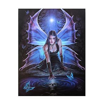 Anne Stokes Immortal Flight Canvas Plaque