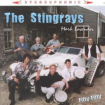 Stingrays & Mark Lavende - Fifty Fifty [CD] USA import