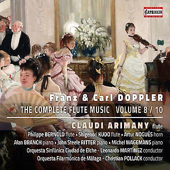Doppler / Arimany - Doppler / Arimany: Complete Flute Music 8 [CD] USA import