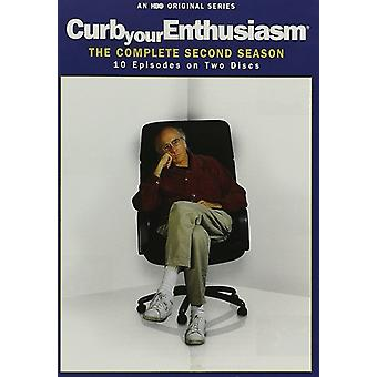 Curb Your Enthusiasm: The Complete Second Season [DVD] USA import