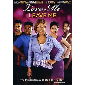Love Me or Leave Me [DVD] USA import