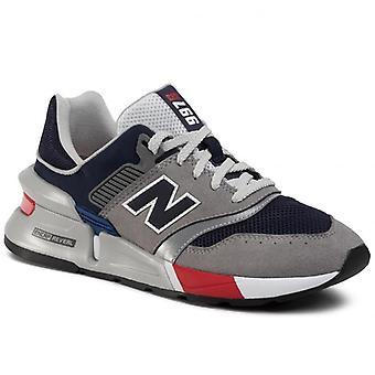 New balance 997 grey navy sneakers mens grey, blue 002