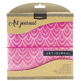 "Studio Light Essentials Art Journal 6.25""X6.25""-"