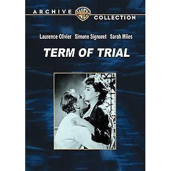 Aikavälillä Trial [DVD] USA tuonti