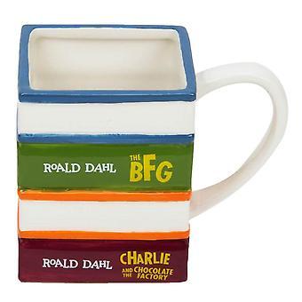 Roald Dahl Livres 3D Tasse en céramique