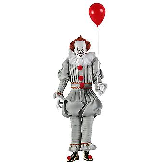 """It (2017) Pennywise 8"""" Clothed Action Figure"""