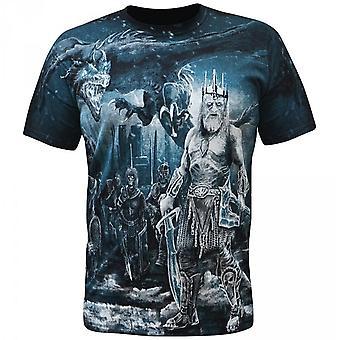 Aquila-zombie King-Miesten t-paita