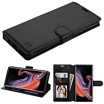 MYBAT Black MyJacket Wallet(with Tray)(561) for Galaxy Note 9