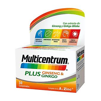 Multicentrum Plus Ginseng and Ginkgo 30 tablets