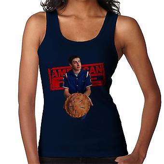 American Pie Jim Holding Pie Women's Vest