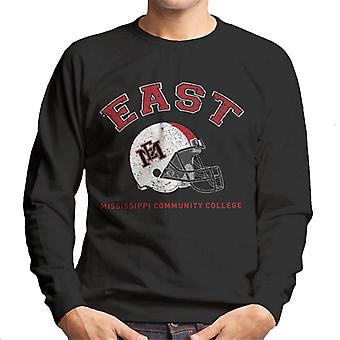 East Mississippi Community College Light Helmet Men's Sweatshirt