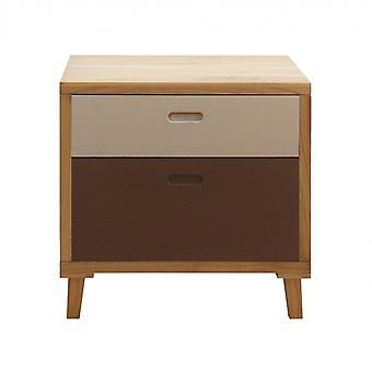 Rebecca Furniture Comfort Drawer 2 Urban Wood Brown Laden 58x60x45