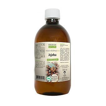Organic Jojoba Vegetable Oil 500 ml of oil