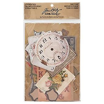 Advantus Tim Holtz Ephemera Pack Sparsommelighed Shop (54pcs) (TH93114)