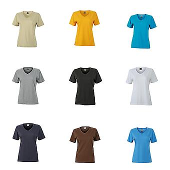 James and Nicholson Womens/Ladies Workwear T-Shirt